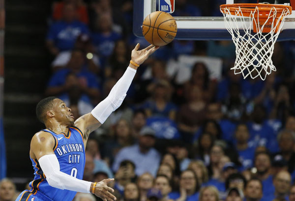 Westbrook opens season with triple-double as Thunder rip Knicks