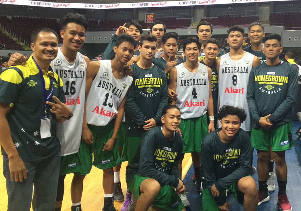 AusPinoy wins hearts at NBTC tiff; Players attract Manila schools