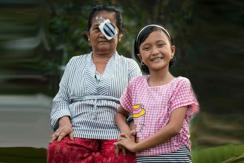 Charity's vision for a blind-free Indonesia