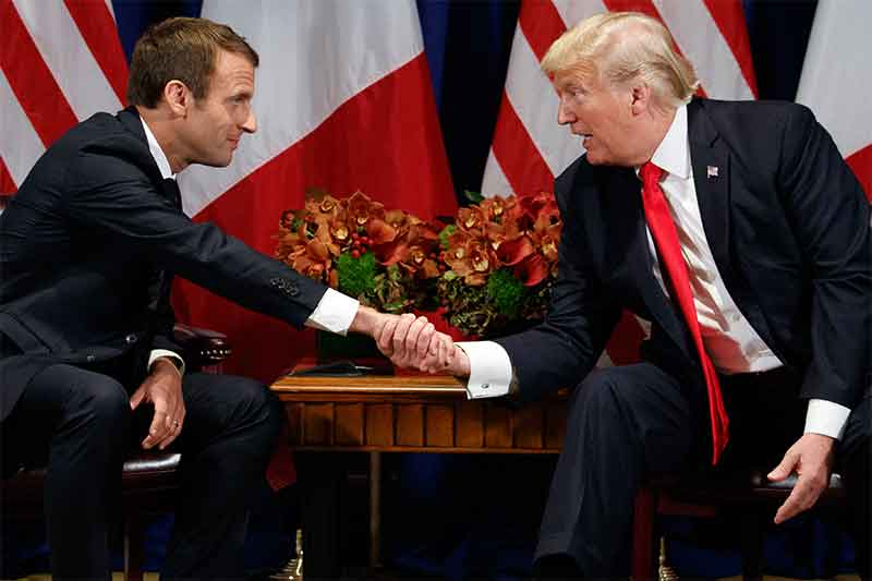 Trump and Macron take spotlight at UN but challenges are key