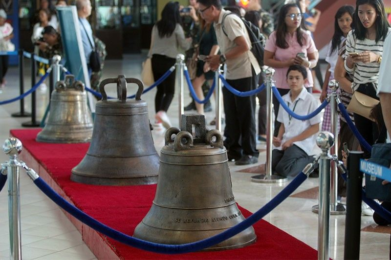 Borongan priests reject proposal to move 1 Balangiga bell to National Museum