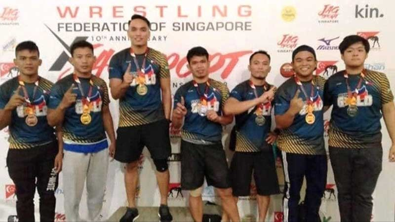 Go For Gold wrestlers triumph in Singapore