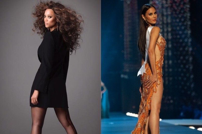 Tyra Banks: Catriona's 'slow-mo spin' exudes 'Pinoy power to the max'