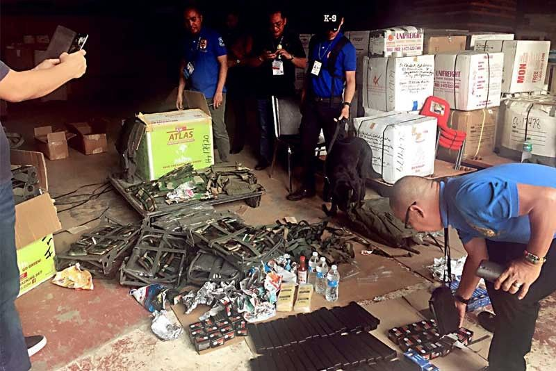 BOC seizes P1 million ammo shipment