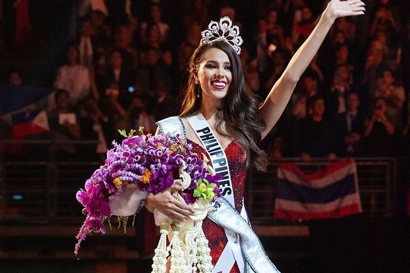 Catriona Gray may soon be on Philippines stamp
