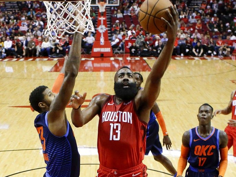 1ae2f0aba93 Harden scores 41 to steer Rockets over Thunder