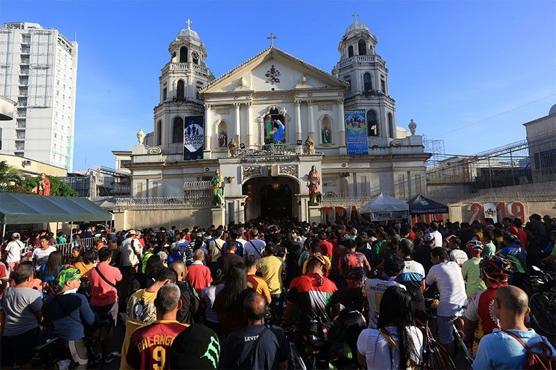 LIST: Road closures, alternate routes for Traslacion 2019