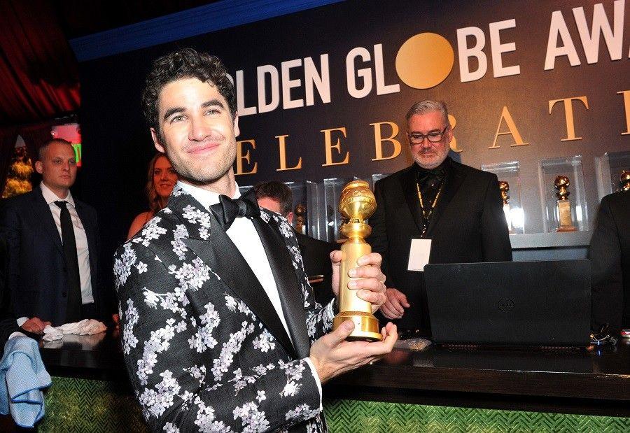 Fil-Am Darren Criss dedicates Golden Globes win to Cebuana mother