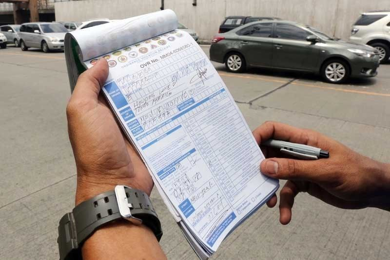 MMDA: 57 cars caught illegally parked
