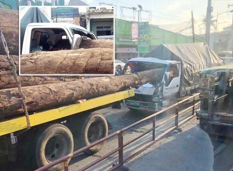 Log crushes truck driver's head in Valenzuela | Philstar com