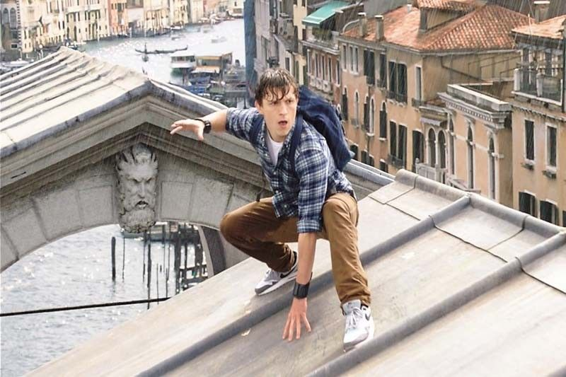 "Tom Holland returns as Peter Parker in ""Spider-man: Far from Home."""