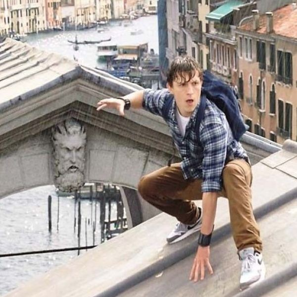 """Tom Holland returns as Peter Parker in """"Spider-man: Far from Home."""""""