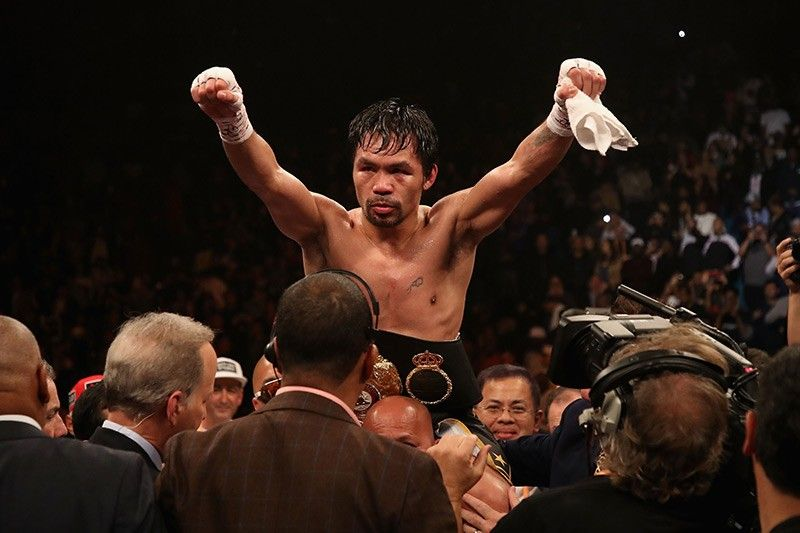 CCTV footage shows at least 4 suspects in Pacquiao LA home robbery
