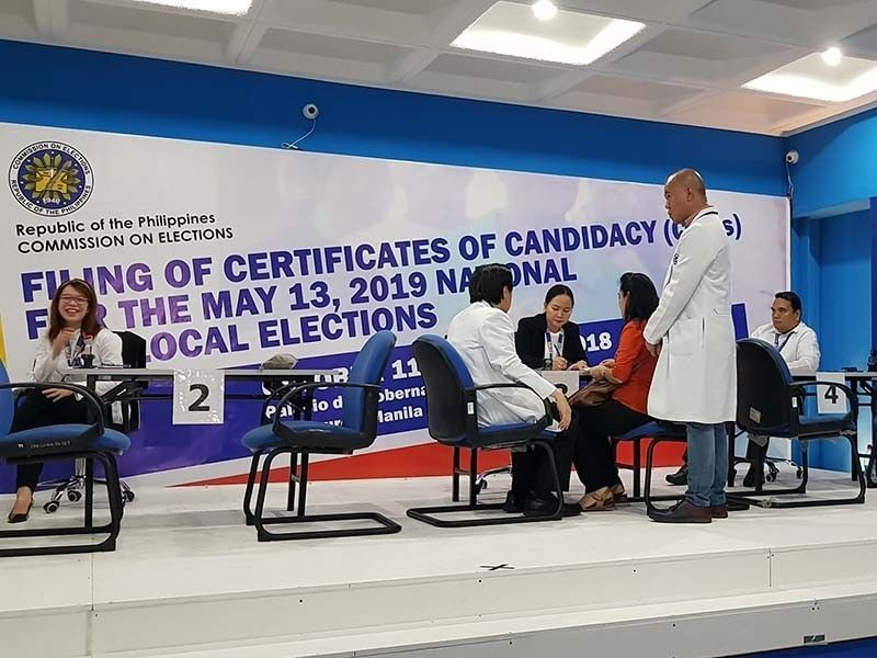 List: Certified senatorial candidates for 2019 elections