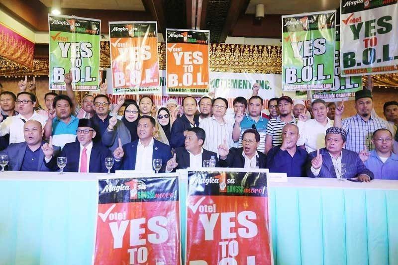 Lanao del Norte rejects BOL; North Cotabato villages vote yes