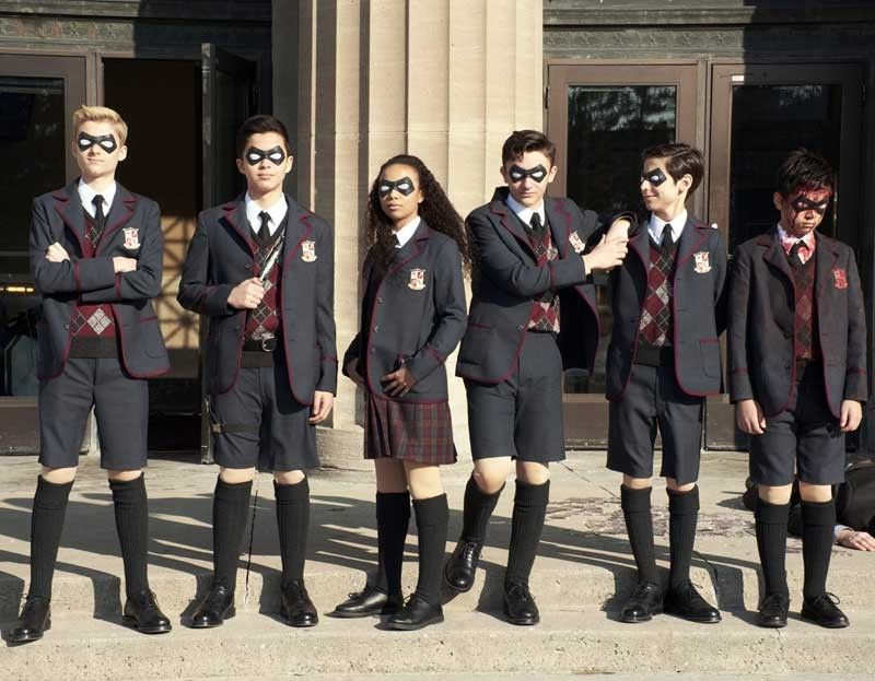 Based on the comics written by My Chemical Romance alum Gerard Way,  The Umbrella Academy introduces a new gang of superpowered misfits led by Ellen Page, Tom Hopper, and Robert Sheehan.