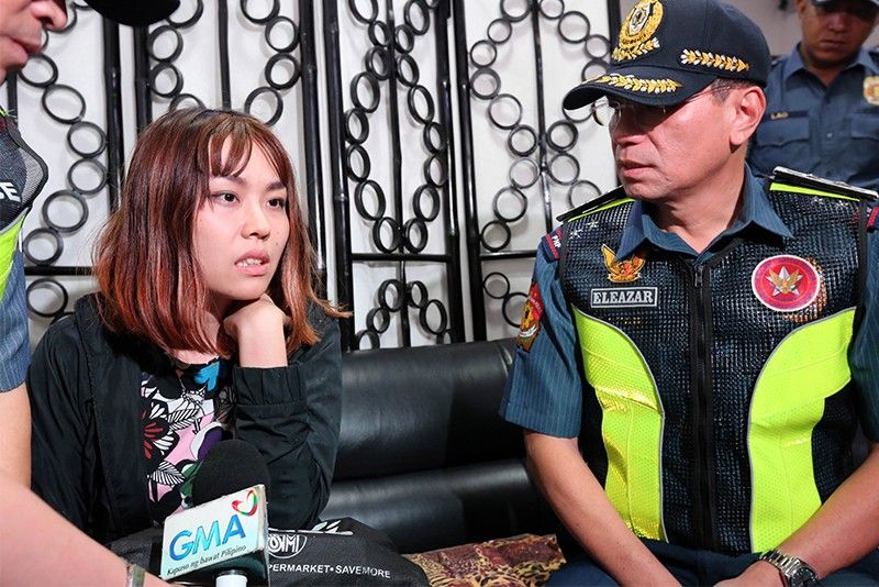 Chinese woman throws �taho� at MRT cop amid tight security measures