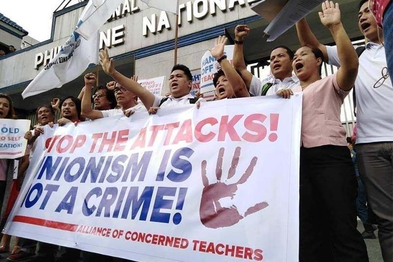 The teacher�s group on Friday said they will file a motion for reconsideration on the CA decision, which junked on technical grounds their petition asking the court to stop the PNP�s inventory of its members.