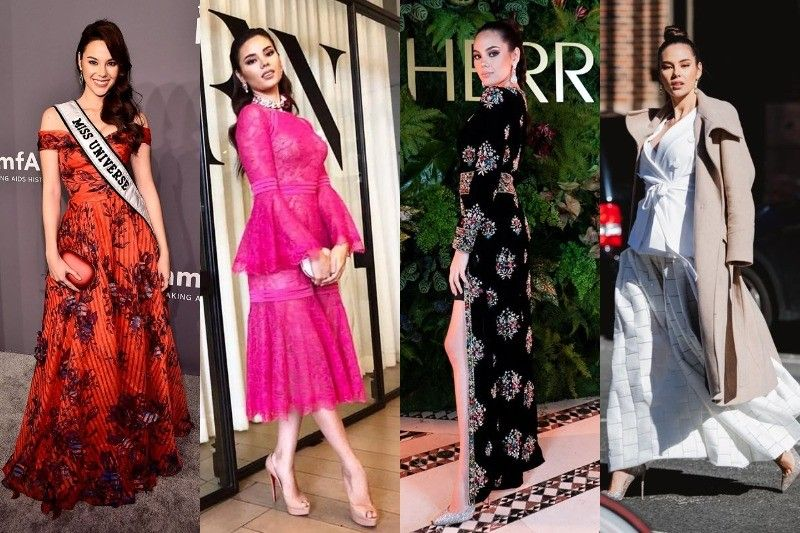 In Photos: Catriona Gray�s looks at New York Fashion Week