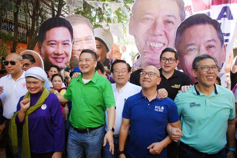 Otso Diretso goes house-to-house in Caloocan | Philstar com