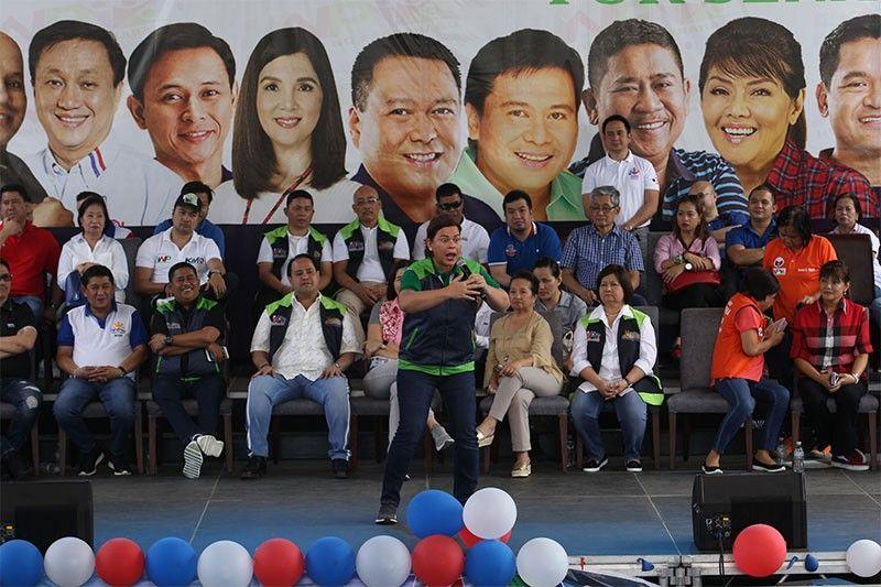 Sara Duterte: Pick only 12 from Hugpong slate of 13