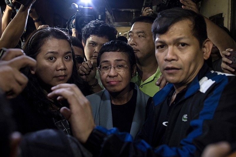 Ressa arrest stirs condemnation, calls for due process from abroad