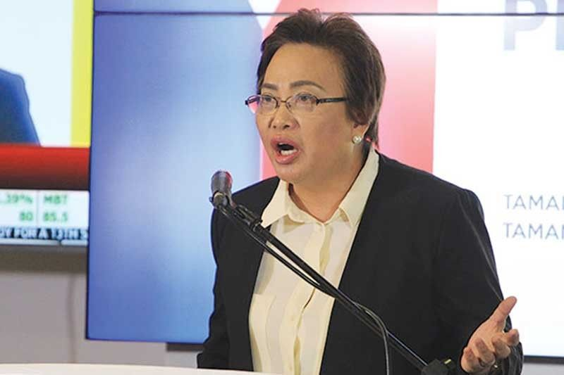 In her Twitter account @commrguanzon, Comelec Commissioner Rowena Guanzon said six more names were added to the original list of 34 senatorial candidates with illegal posters and campaign materials. There are 62 running for senator in the May elections.