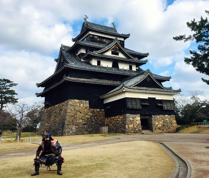 Samurai-me: Matsue-jo Castle in Shimane is a national treasure.