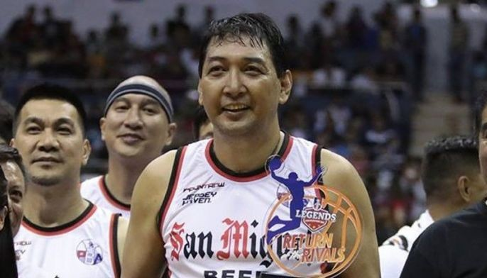 With 26 points anchored on a hot shooting from rainbow territory, SMB's Allan Caidic came home with the Best Player of the Game award.