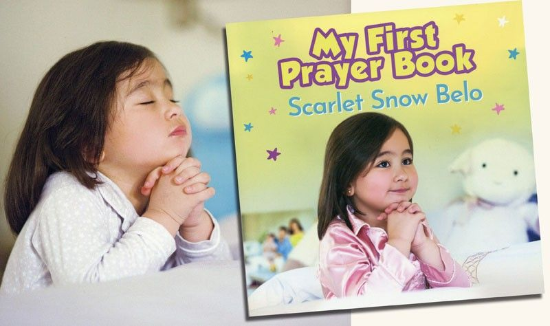 According to the article Learn How to Pray...at the back cover, �My First Prayer Book is a read-aloud collection of stories and prayers for kids of all ages.