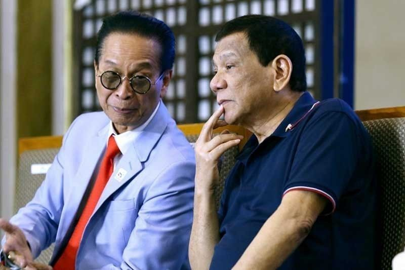 Spokesman Salvador Panelo claims Duterte doesn't know Wilfredo Keng