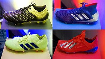 Adidas unveils 2019 'Exhibit Pack' for football