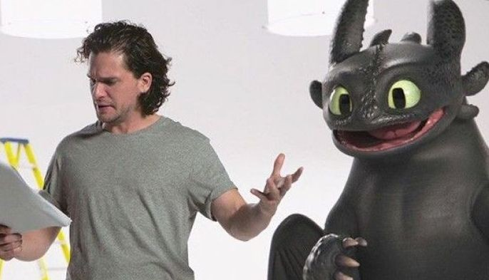 """How to Train Your Dragon 2"" star Kit Harington"
