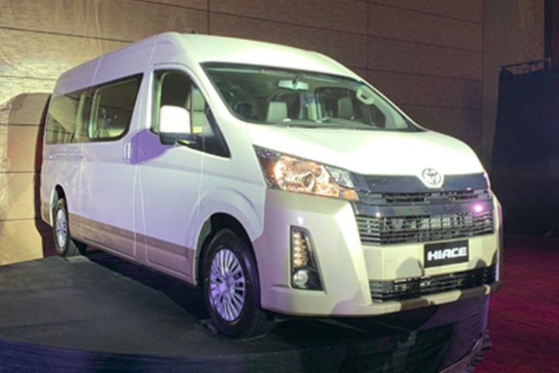 Toyota reveals all-new Hiace in the Philippines | Philstar com