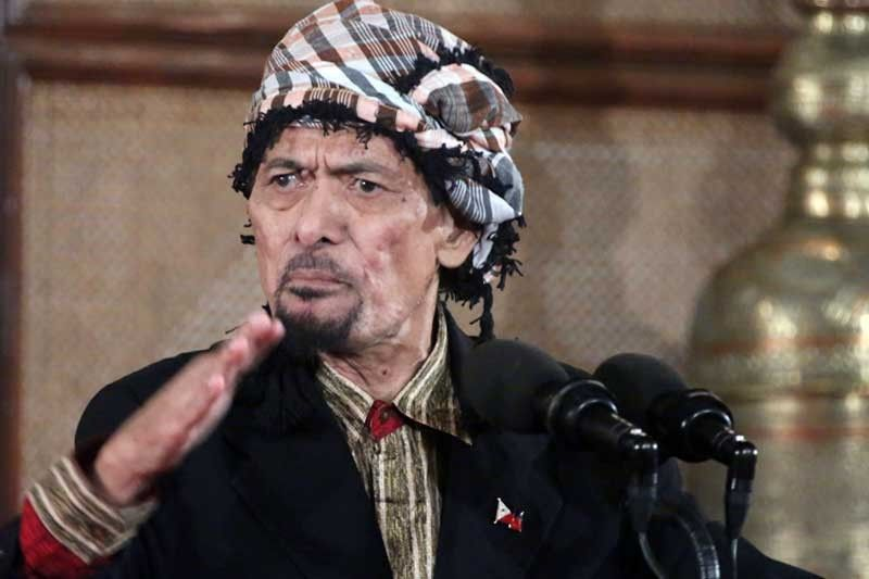 Misuari is opposed to the abolition of the Autonomous Region in Muslim Mindanao, which he used to head. He is considered to be a wild card in the peace process with the Moro Islamic Liberation Front.