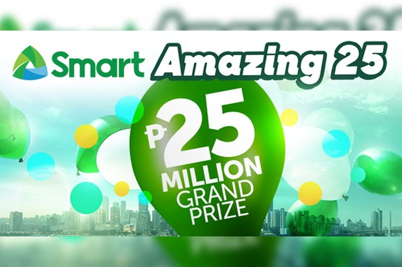Now's the last chance for Smart subscribers to be P25 million richer!