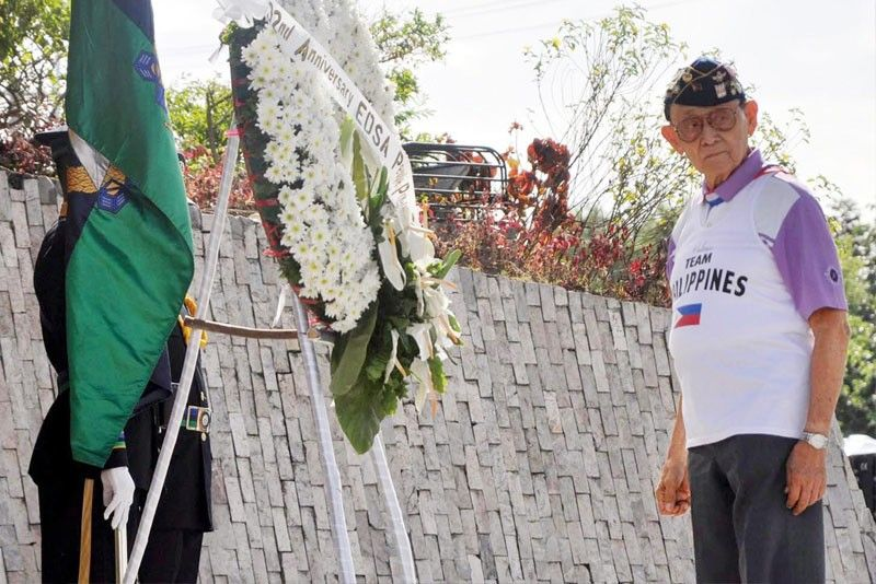 For 1st time, no Fidel Ramos leap during EDSA anniversary