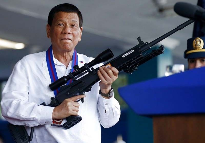 Duterte vows to finish war on drugs