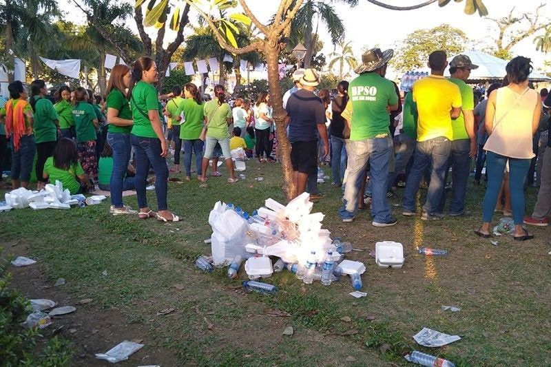 PDP rally leaves 1 ton of garbage
