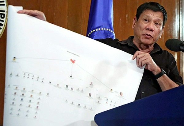 Palace: Building Cases Vs 'narco-politicians' Takes Time