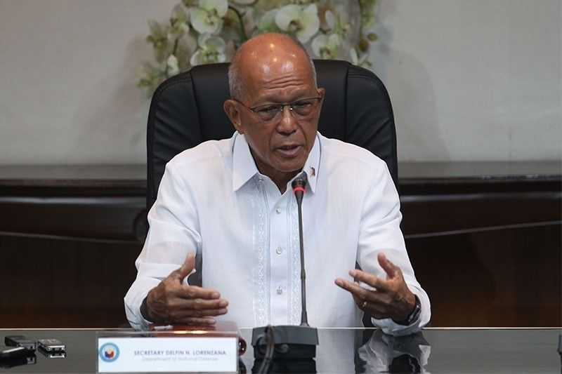 Defense Secretary Delfin Lorenzana is pushing for a review of the 1951 MDT because should a �shooting war� erupt between the US and China in the South China Sea, the Philippines will be involved, contrary to what Foreign Affairs Secretary Teodoro Locsin Jr. has said.