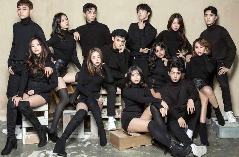 filipino korean girl group