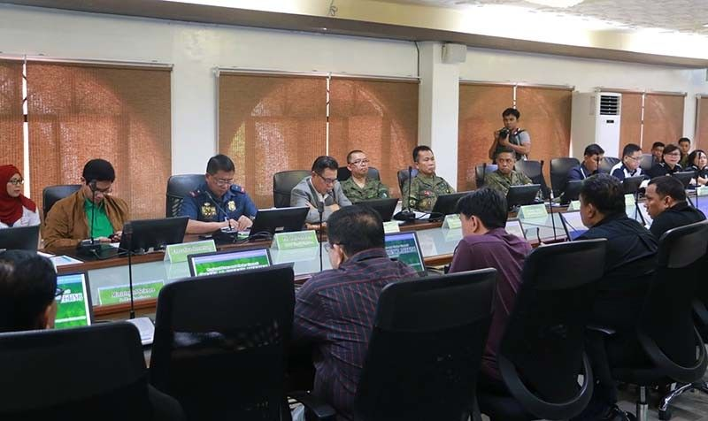 BARMM holds first peace and order council meeting