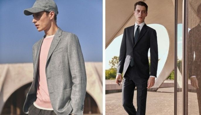 Ermenegildo Zegna produces expertly crafted, made-to-measure attire, ranging from formalwear to casual and to niche leatherwear.