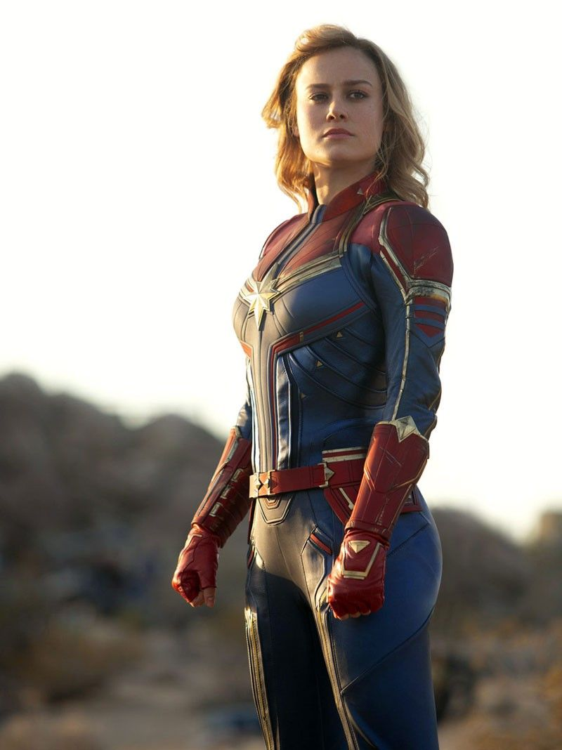 Brie Larson identifies with Captain Marvel�s journey