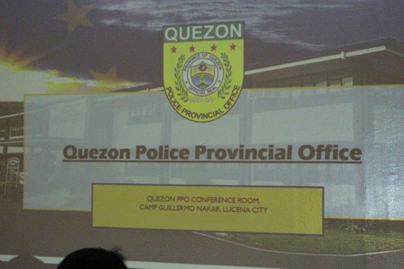 Quezon province police exec relieved over slay of mayor's son