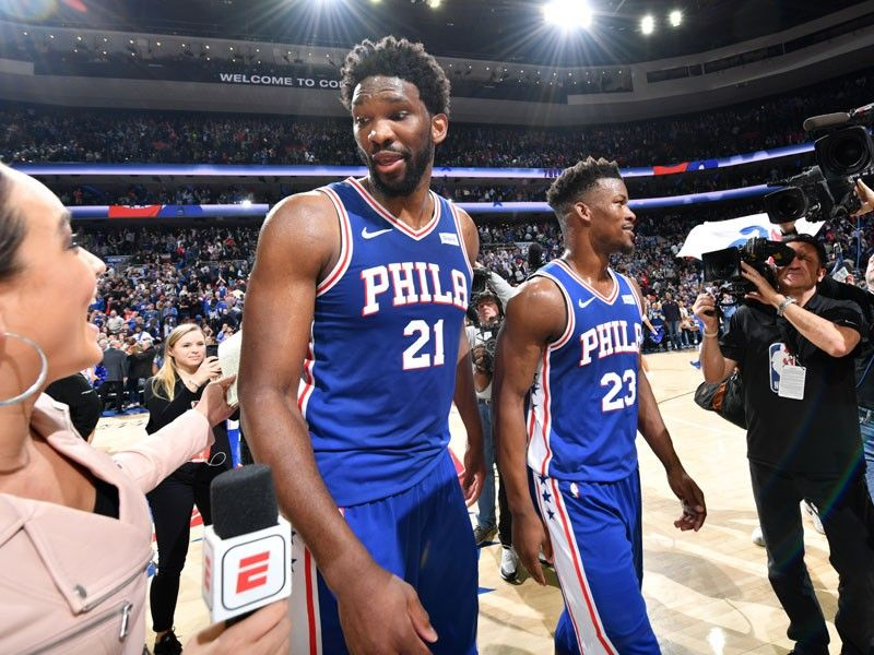 Butler, Embiid star as Sixers rattle Celtics