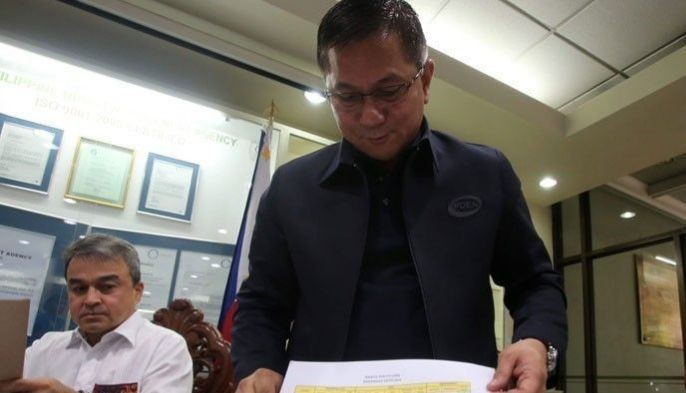 In this file photo, PDEA director general Aaron Aquino present to media the baranggay narcolist during a press conference.