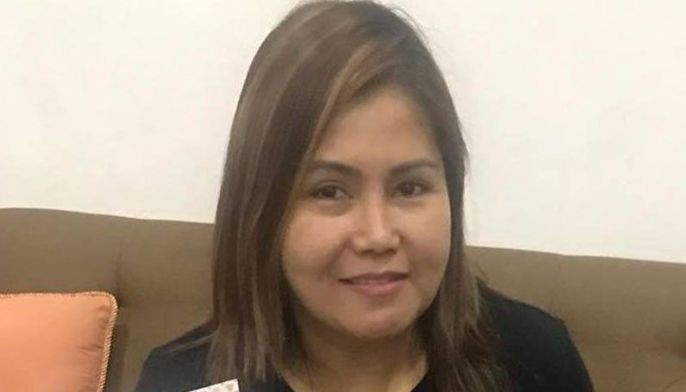 Monaliza â??Monetteâ?? Bernardo, 44, had just alighted from her vehicle and was about to enter her house when one of the assailants shot her, Southern Police District (SPD) spokesperson Superintendent Jenny Tecson said.