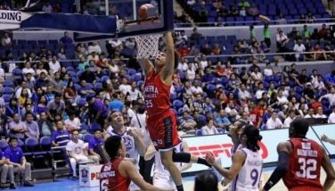 Japeth Aguilar, a proud son of the province from the nearby Sasmuan town, erupted for 27 points, including the dagger baskets at the finish as the Kings clinched the fourth spot in the quarterfinals, joining early qualifiers Phoenix Pulse (9-2), Rain or Shine (8-3), TNT KaTropa (7-3) and San Miguel Beer (6-4).